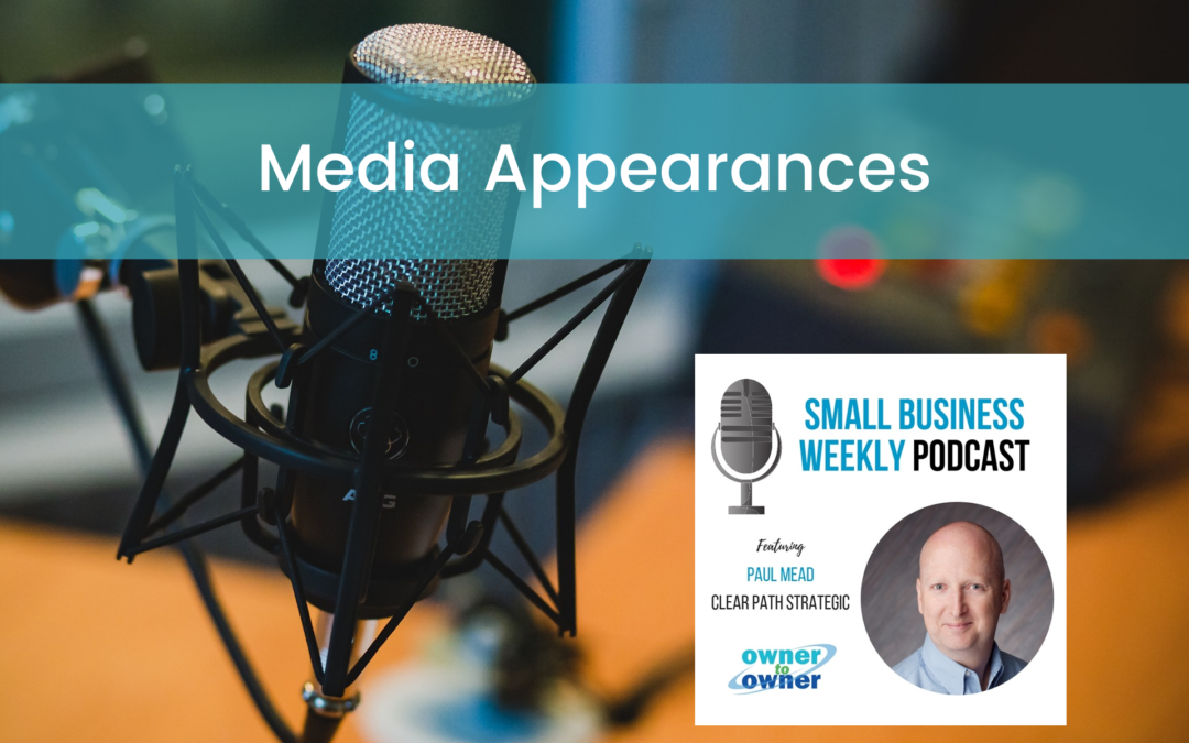 Media appearances - SBAM